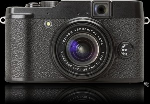 Fuji X10 front view